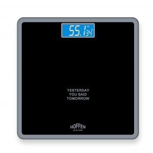 Hoffen Digital Electronic LCD Personal Weighing Scale